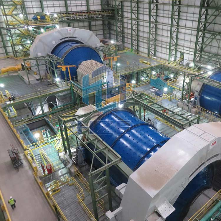 Copper Beneficiation and Processing Plant