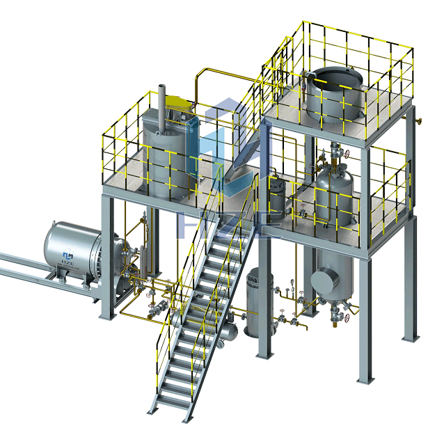 Gold or Silver Elution and Electrowinning System