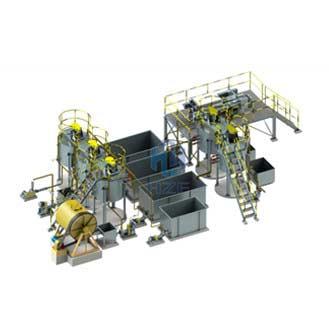 Small Scale Modular Batch Leaching Plant